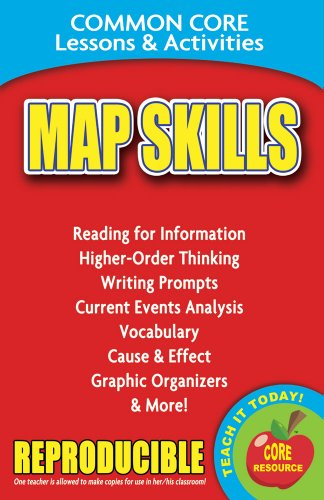 Map Skills - Common Core Lessons and Activities
