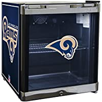 SGMS NFL Los Angeles Rams 1.8 Cubic Foot Refrigerated Beverage Center