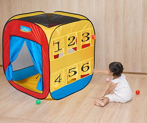 Utex Deluxe Pop Up Play Tent Tunnel And Ball Pit For Kids