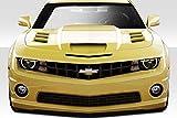 2014 camaro 2 piece hood - Duraflex ED-NSO-582 TS-2 Hood - 1 Piece Body Kit - Fits Chevrolet Camaro 2010-2015
