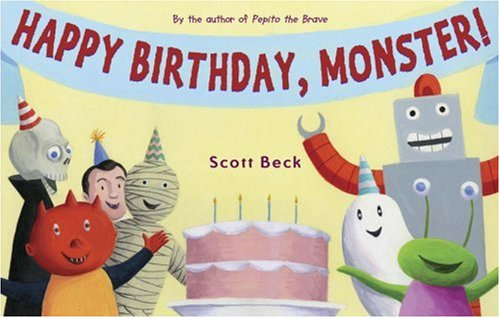 Happy Birthday, Monster! (Preschool Halloween Party Themes)