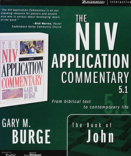 Zondervan Nivac 5.1 Book Of John Rev