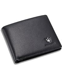 Maserati Bifold Wallet Slots Window Advantages