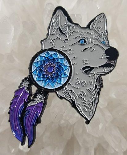 (Wolf Dreamcatcher Dream Catcher 2.25