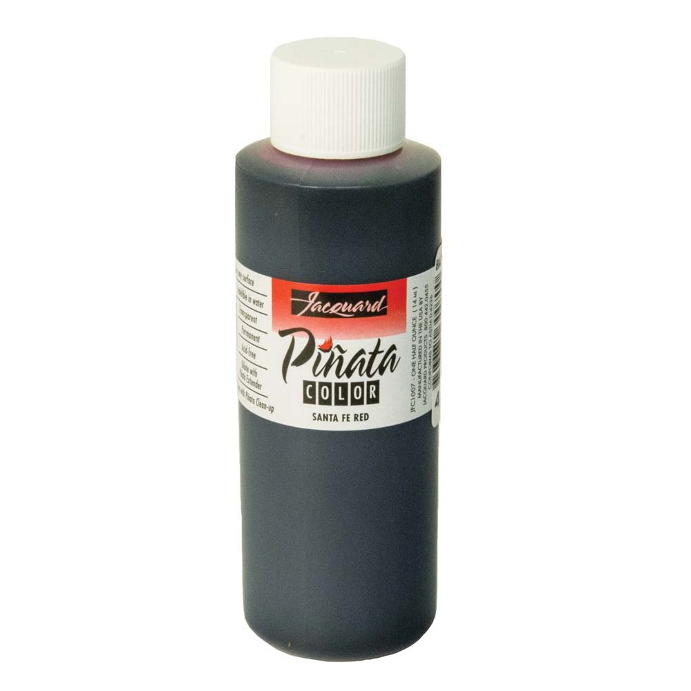 Pinata Santa Fe Red Alcohol Ink that by Jacquard, Professional and Versatile Ink that Produces Color-Saturated and Acid-Free Results, 4 Fluid Ounces, Made in the USA