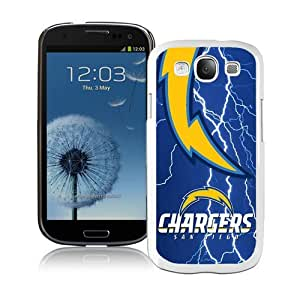 Custom Best Design San Diego Chargers 48 White Samsung Galaxy S3 i9300 Case