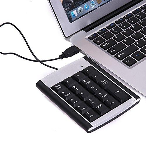 NA Laptop USB 19 Keys Mini keypad Keyboard for IBM PC