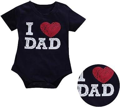 Womola Toddler Kids Baby Girls Boys Letter Print Romper Bodysuit Clothes Summer
