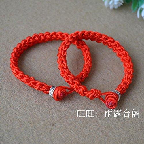 Amazon com: New Dragon Boat Festival bracelet hand-woven red string