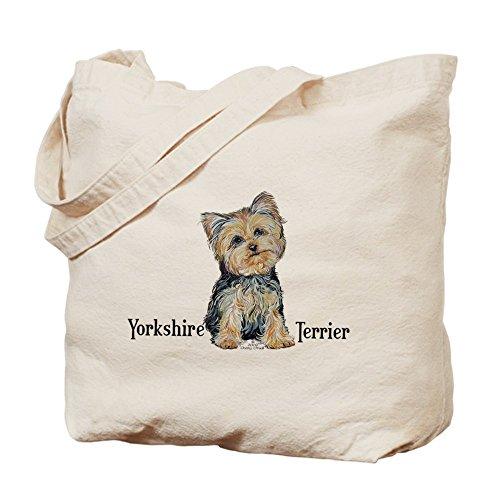 CafePress–Yorkshire Terrier Cutie–Borsa di tela naturale, panno borsa per la spesa