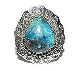 Azurite Ring 01 Gorgeous Natural Healing Spiritual