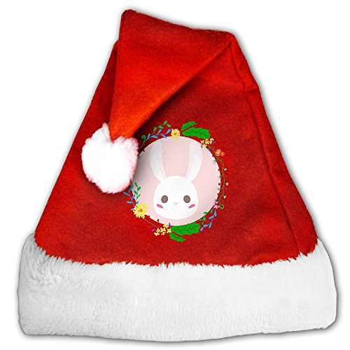 JSIX7Q Rabbit Christmas Holiday Decorations Hats For Kids Adult Christmas Gifts Nice Santa Hats