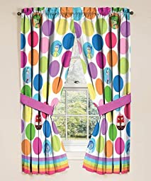 Disney Inside Out Window Panels, 42 in x 63 in panel, Made to fit 36in- 48 in window