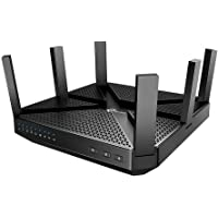 TP-Link AC4000 Smart WiFi Router (Archer A20) - Tri Band Router, MU-MIMO, VPN Server, Advanced Security by HomeCare, 1…