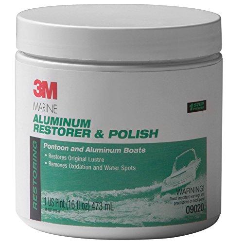 3M 09020 Marine Aluminum Restorer & Polish (Cleaner Brite Aluminum)