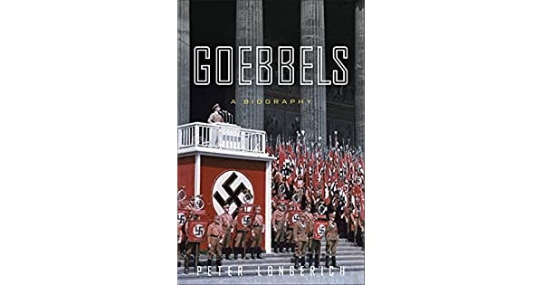 Goebbels: A Biography - Livros na Amazon Brasil- 9781400067510