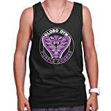 Globo Gym Dodgeball Funny Gift Cute Cool Purple Cobras Edgy Tank Top Shirt