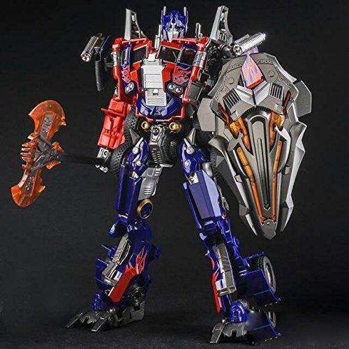 Transformers Wei Jiang Movie Leader Class Alloy Diecast Optimus Prime by BestGrey (Optimus Prime Movie)