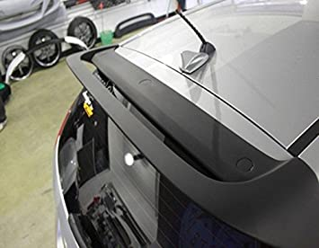 JR2 Painted Black Color for 2011 2012 2013 2014 Cadillac CTS 2D Coupe Rear Window Roof Spoiler