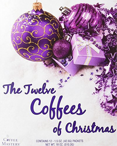 Christmas Gift Pack (Coffee Masters The Twelve Coffees of Christmas Variety Pack)