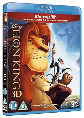 The Lion King (Blu-ray 3D) [Region Free] (Best Soundbar For Streaming Music)