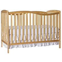 Dream On Me Chelsea 5-in-1 Convertible Crib, Natural, 37 Pound