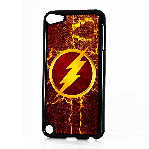 ( For iPod Touch 6 / iTouch 6 ) Back Case Cover - HOT30060 Superhero Flash