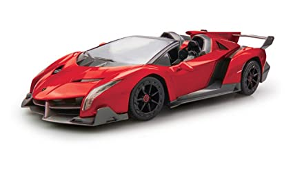 Amazon Com 1 12 Lamborghini Veneno Radio Controlled Toy Toys Games