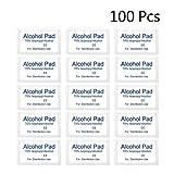 Exceart 100Pcs Alcohol Pad Alcohol Prep Pads