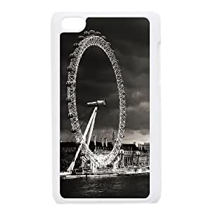 Vintage Ferris Wheel iPod Touch 4 Case White Kvrdd