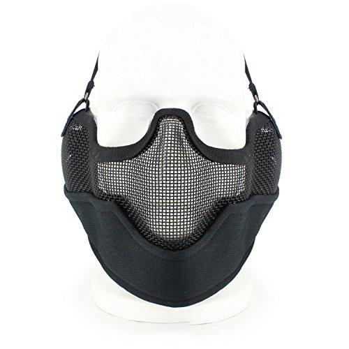 """LOOGU Matrix Iron Face Carbon Steel """"Striker"""" Gen2 Breathabl"""