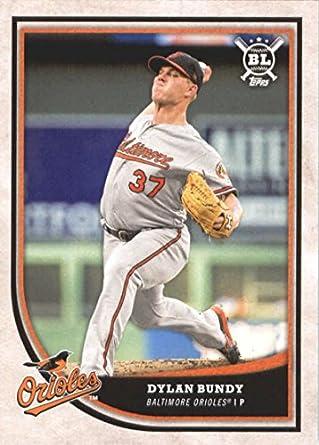 a320eae93 Amazon.com  Baseball MLB 2018 Topps Big League  380 Dylan Bundy ...
