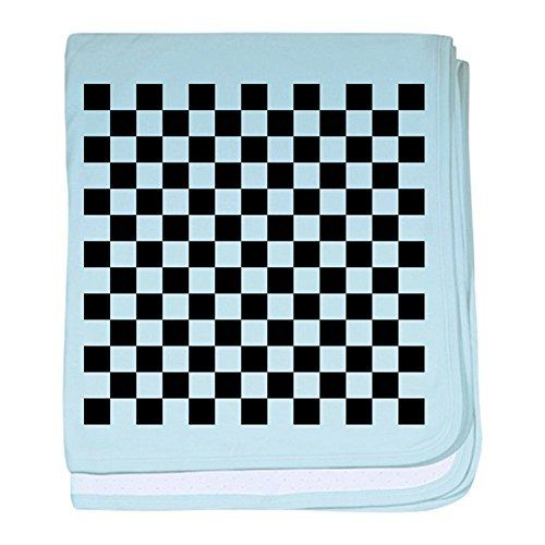 CafePress - Black and White Checkered Pattern - Baby Blanket, Super Soft Newborn Swaddle