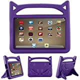 Lmaytech All-New HD 8 2018/2017 Kids Case - Light Weight Shock Proof Handle Friendly Convertible Stand Kids Case for HD 8-inch Tablet (8th / 7th Generation, 2018/2017 Realease), Purple