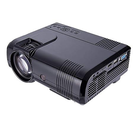 QLPP Proyector HD, Cine portátil Full HD 1080P apoyado 100 ...