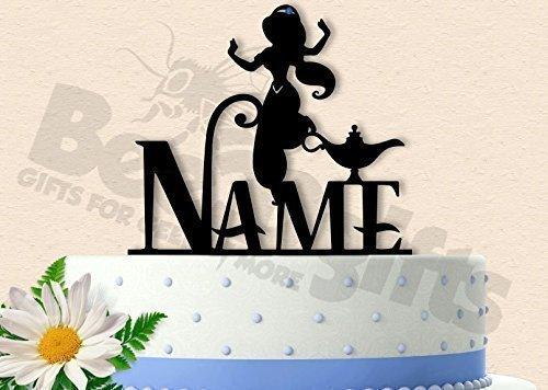 Jasmine Princess Birthday Cake Topper with
