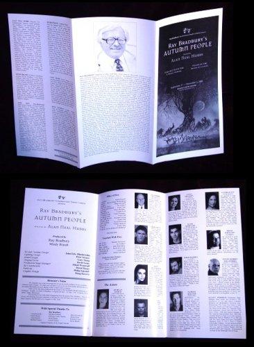The Autumn People Theater Brochure