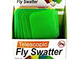 Giant Telescopic Fly Swatter Display - Pack of 12