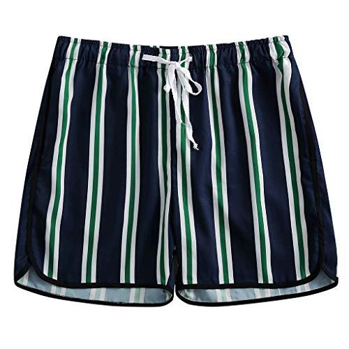 Aleola Men's Board Mesh Liner Quick Dry Casual Surf Beach Shorts (Navy,XXL)