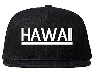 Kings Of NY Hawaii USA State Snapback Hat Black