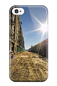 For Iphone 4/4s Tpu Phone Case Cover(locations Los Angeles)