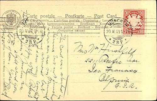 Amazon.com: Weibliches Bildnis Art Original Vintage Postcard ...