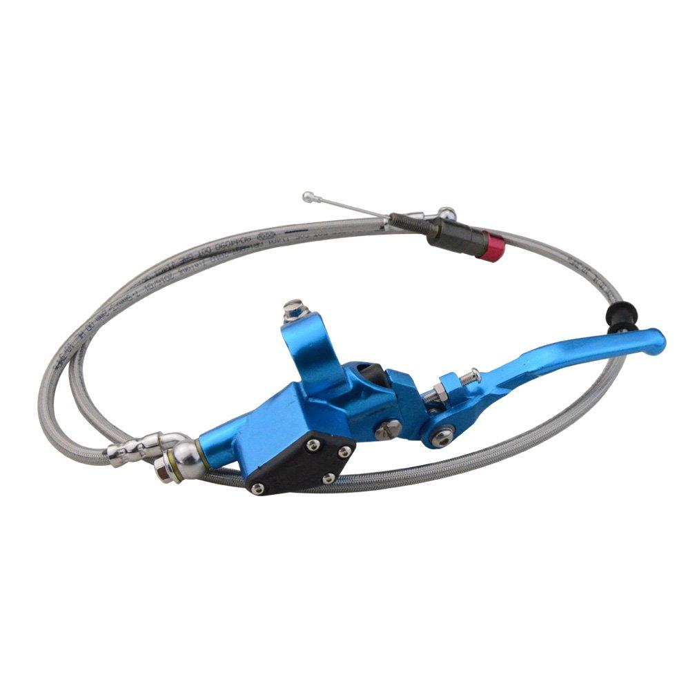 Goofit Universal-Motorrad 7//8 Kupplung CNC-Hauptzylinder f/ür hydraulische Kupplung Hebelsatz Fl/üssigkeitsvorratsbeh/älter
