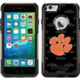 Clemson - Dark Repeating design on Black OtterBox Commuter Series Case for iPhone 6 Plus and iPhone 6s Plus