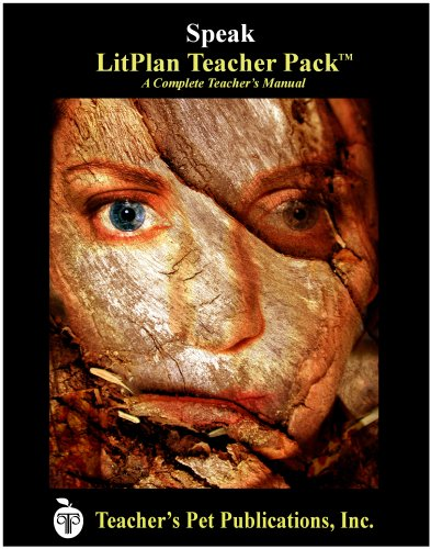 Speak by Laurie Halse Anderson LitPlan - A Novel Unit Teacher Guide With Daily Lesson Plans (LitPlans on CD)