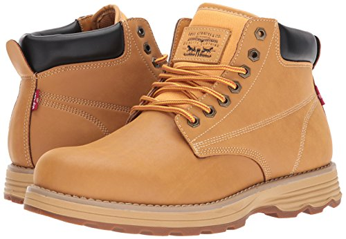US oleoso Uomo Gordon Gum 10 Frumento Levi's Boot US Nero 10 4XSOB