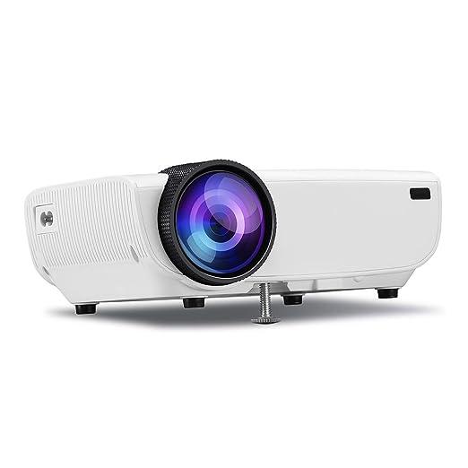 WOGQX Proyector De Video Doméstico, Proyector De Pantalla 800 ...