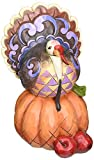Jim Shore for Enesco Heartwood Creek Pint Sized Turkey Figurine, 5-Inch