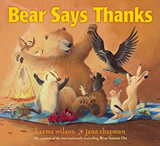 Book Cover: Bear Says Thanks