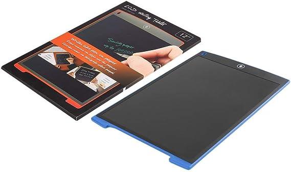 青、12インチLCDライティングタブレットデジタルミニポータブル電子超薄型パッド